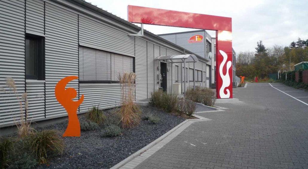 Kunst Manfred Webel - CWW-Eingangsbereich Ausschnitt