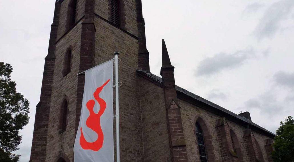 Partizipative Kunst Webel-Beverungen Flagge neu