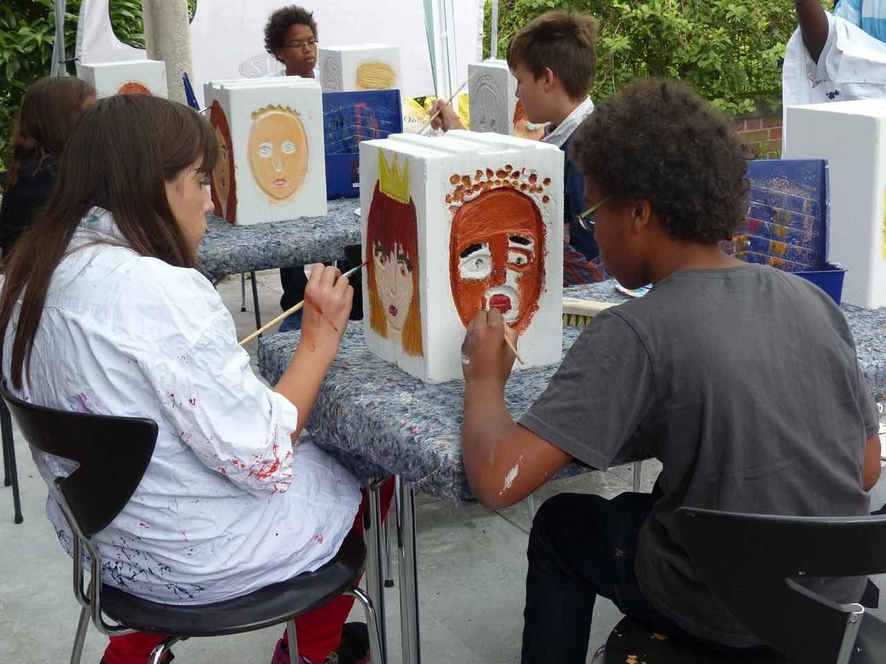 Partizipative Kunst in der Jugendhilfe: Arbeit am Marterpfahl
