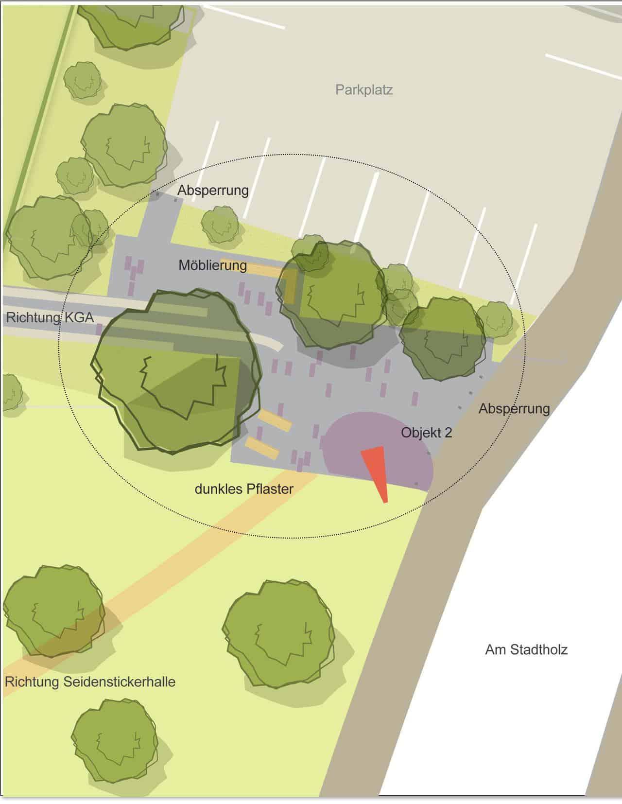 Partizipation in der Städteplanung - Entwurfsbeispiel