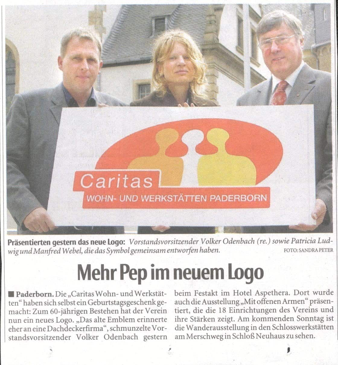 Partizipative Kunst: Logogestaltung Manfred Webel