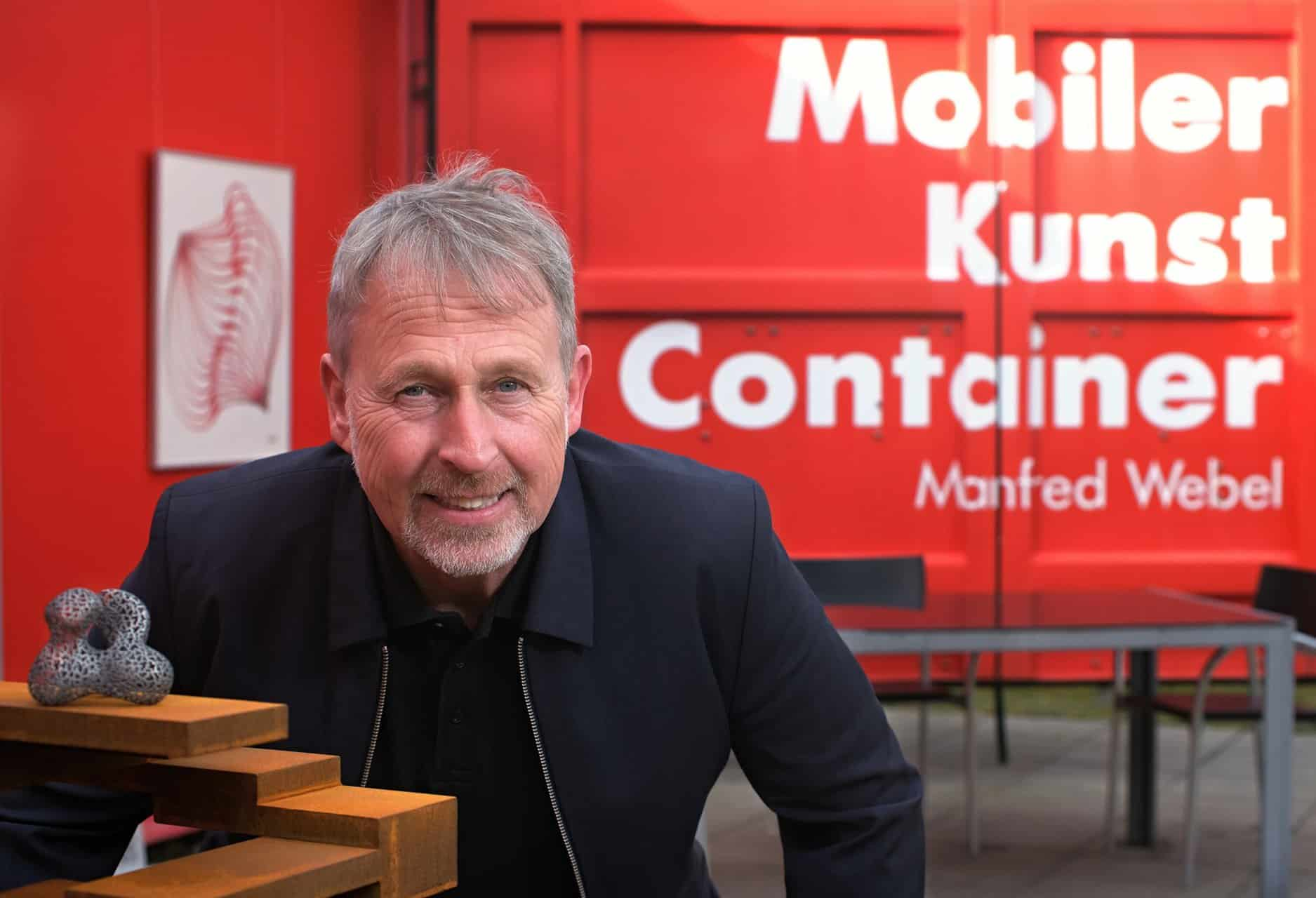 manfred webel Kunst-Container